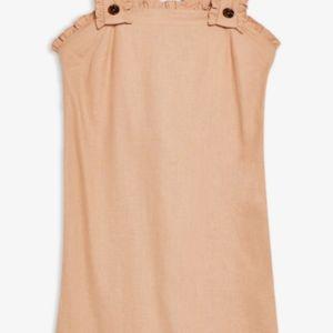 Topshop Dresses - Topshop Tan Lines Pinafore Mini Dress.